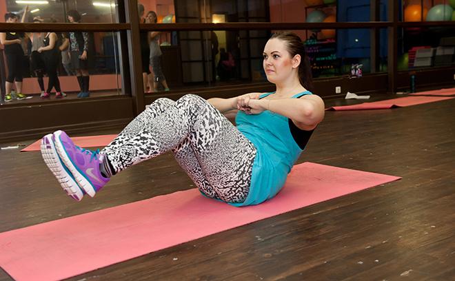 Упражнения для похудения: двойное скручивание