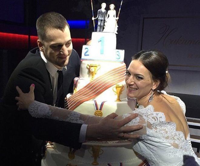 Свадьба Елены Исинбаевой и Никиты Петинова