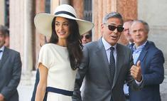 Жена Клуни – на третьем месяце беременности