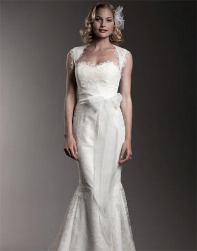 Свадебное платье Amy Kuschel, коллекция весна-лето 2012