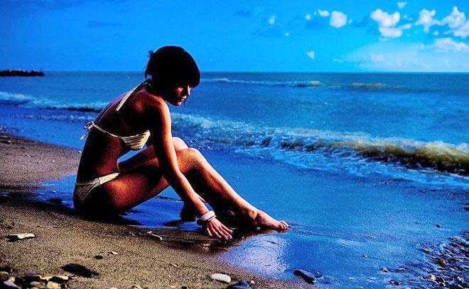 стильная девушка самые красивые девушки Ростова ростовчанка Лора Шатц отдых на море