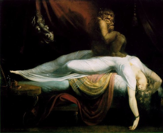 "Иоанн Генрих Фузли (Fussli), ""Кошмар"", 1781"