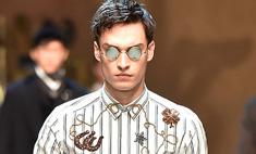 Dolce & Gabbana одели мужчин в стиле спагетти-вестерн
