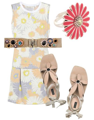 одежда с цветками