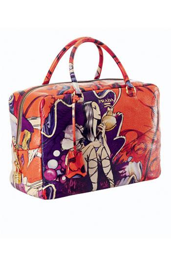 кожаная сумка, Prada