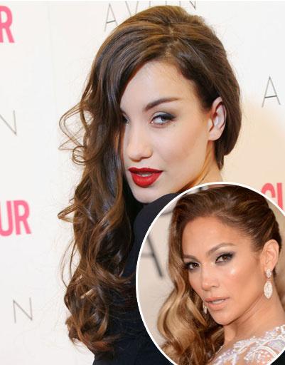Виктория Дайнеко и Дженнифер Лопес (Jennifer Lopez)