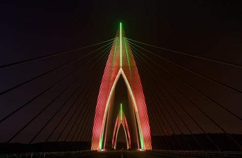 Компания Philips Lighting осветила «Инженерное чудо Африки» | галерея [1] фото [3]