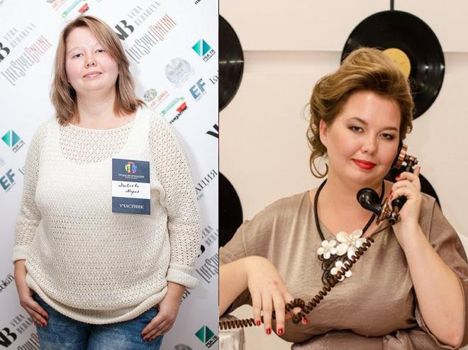 Мария Яковлева до и после преображения