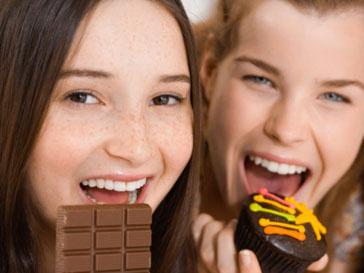 Шоколад помогает сохранить молодость не хуже фруктов