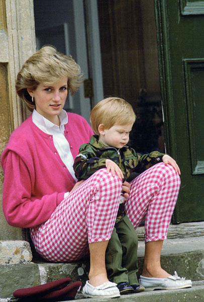 Принцесса Диана, 1986 год