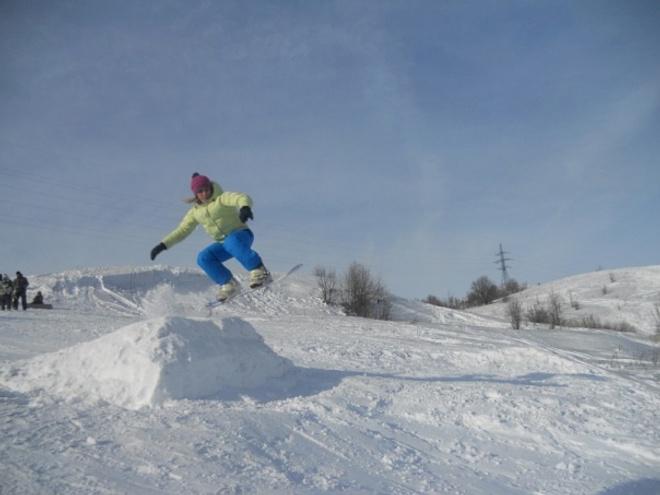 Сноубордистки красивые 2