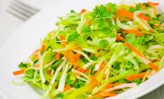 Салат из зеленой редьки: простой рецепт