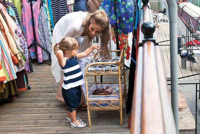 Блошиный рынок Кэмден-лок – место паломничества модниц со всего мира.