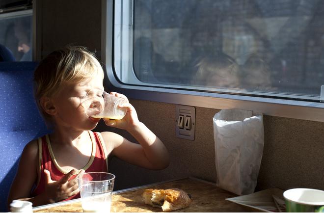 что взять в поезд покушать
