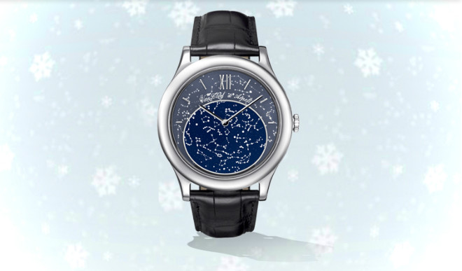 Мужские часы Van Cleef & Arpels Poetic Complication Midnight in Paris
