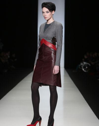 Показ коллекции Julia Dalakian осень-зима 2013/14 на Mercedes-Benz Fashion Week Russia