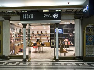 магазин австралийских обувных марок EMU Australia & BLOCH.