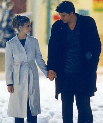 """Кадр из сериала """"Баффи - истребительница вампиров"""", 1997 год"""