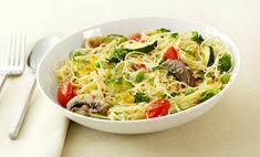 Спагетти с шампиньонами в мультиварке