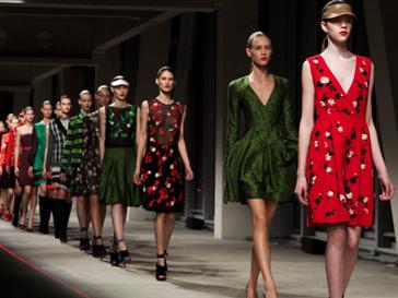 На Неделе моды в Лондоне свои коллекции сезона весна-лето 2013 покажут всемирно известные модные бренды