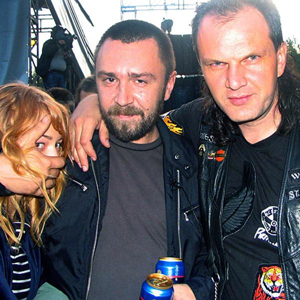 Шнуров объявил о разводе с женой Cергей Шнуров и его жена