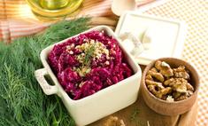Салат из вареной свеклы: лучшие рецепты