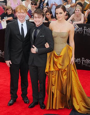 Премьера Гарри Поттера в Нью-Йорке