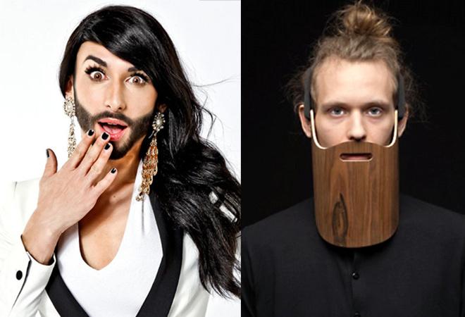 Анекдот с бородой: Кончита Вурст и деревянный креатив петербургского дизайнера