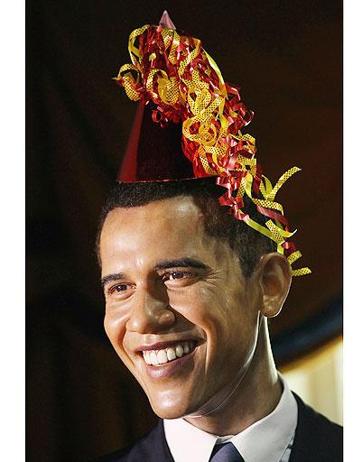 """Фигура Барака Обамы (Barack Obama) в """"Музее мадам Тюссо"""