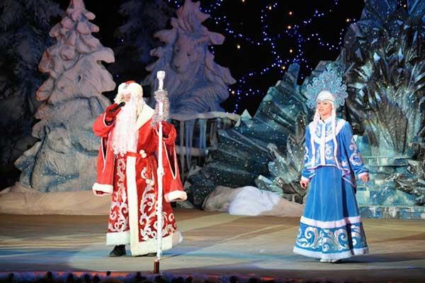 Новый год в Сургуте