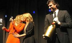 Кейт Мосс и Шэрон Стоун слились в чувственном поцелуе