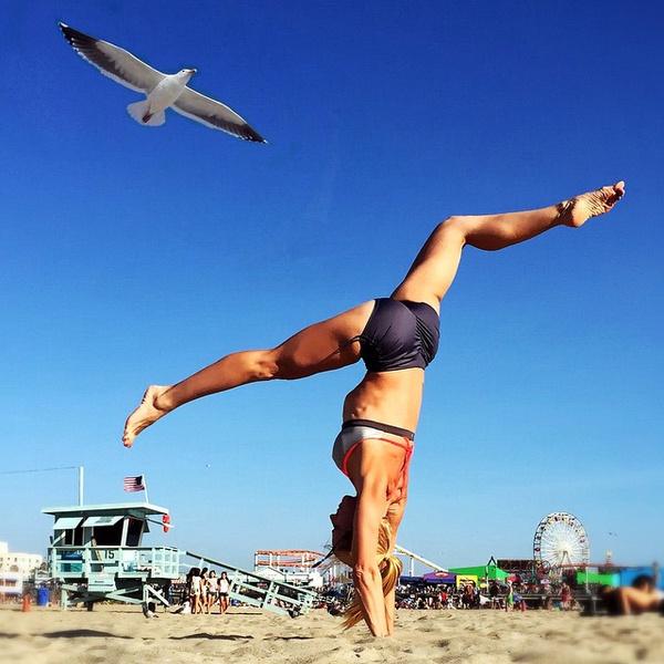 ВСТАЛА В ПОЗУ: 7 мотивирующих йога-аккаунтов | галерея [2] фото [4]