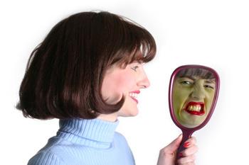 Если долго смотреть в зеркало