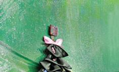 Новогодние украшения для двери