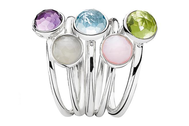 Кольца-талисманы Pandora