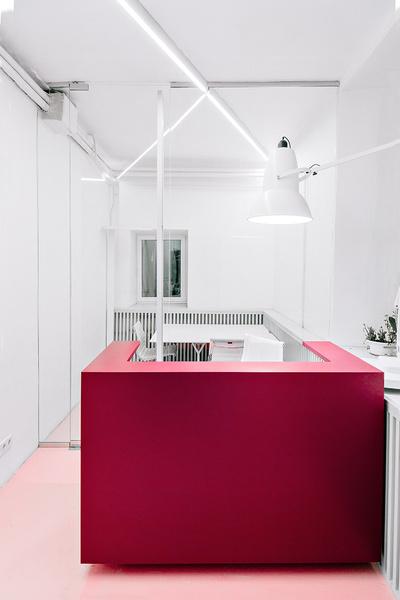 Жизнерадостный интерьер офиса: проект в деталях | галерея [1] фото [14]