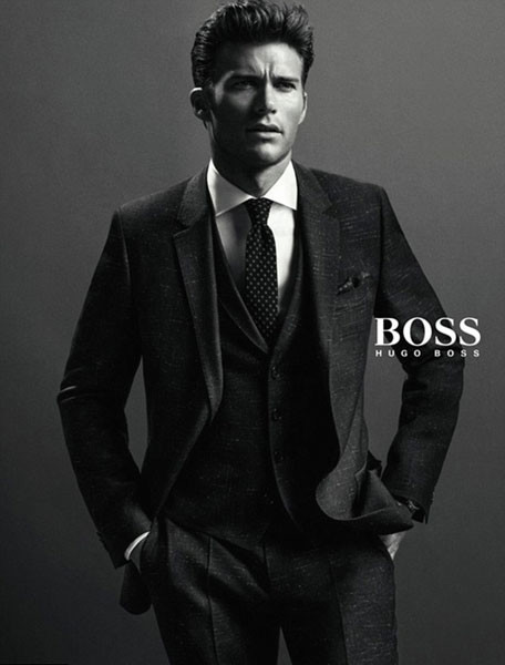 Скотт Иствуд в рекламе Hugo Boss осень-зима 2014/15