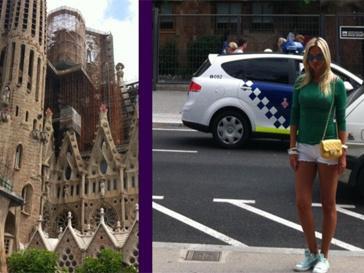 Виктория Лопырева влюбилась в Барселону.