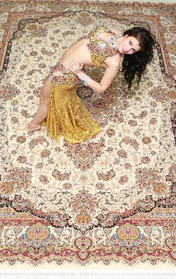 Анна Долгополова самая обворожительная восточная танцовщица Самары