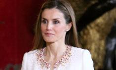 Стиль звезд: принцесса Испании Летиция на коронации