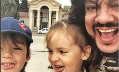 Киркоров счастлив, что впервые дети будут рядом на гастролях