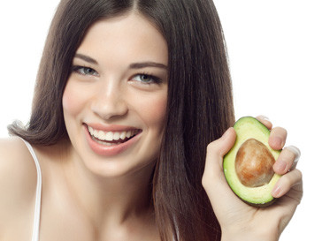 Простой салат с авокадо