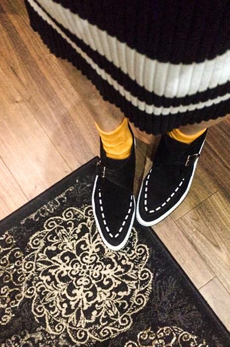 Как носить носки с туфлями