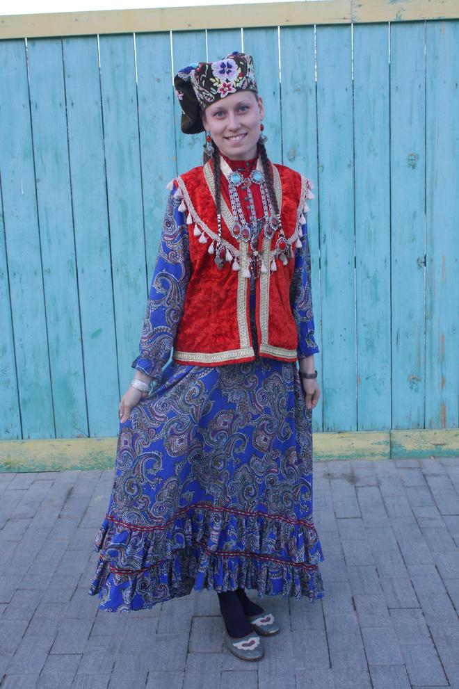 Национальный костюм: Татарский костюм фото