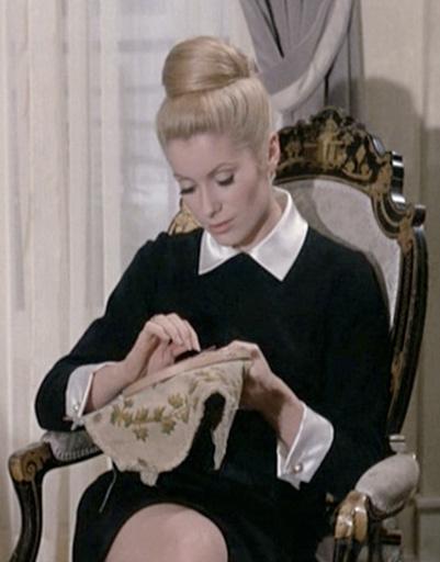 """Кадр из фильма """"Дневная красавица"""", 1967 год"""