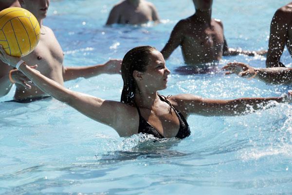Спортивные игры в воде