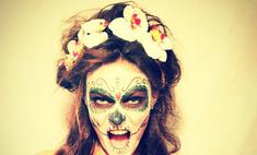 Алена Водонаева сделала макияж по-мексикански