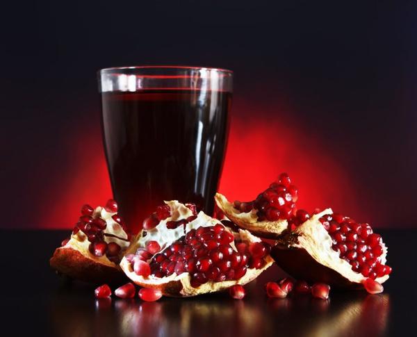 Как сделать гранатовый сок