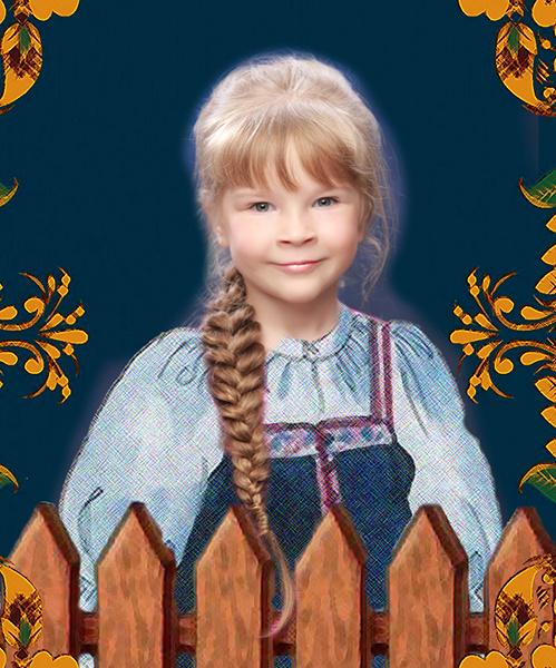 Алена Котельникова, «Уральская краса – русская коса», фото