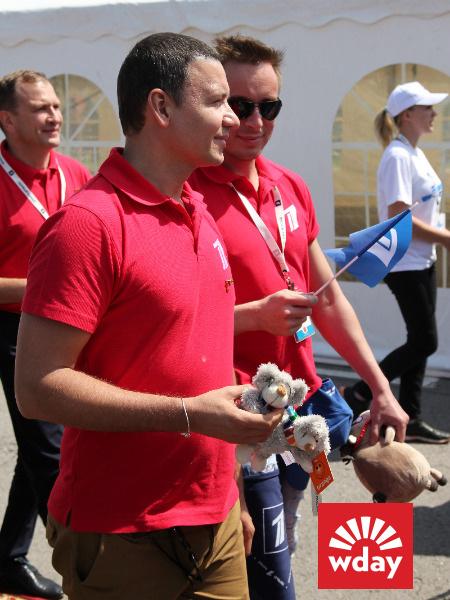 Благотворительная акция «Первого канала» «Стань первым» в Туле, Александр Олешко